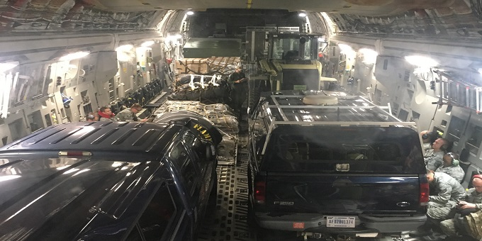 172d AW Provides Hurricane Harvey Relief